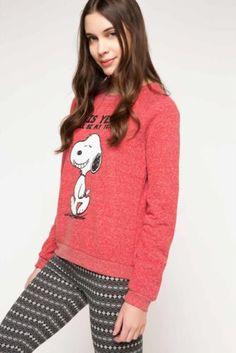 Sweatshirt - Snoopy Baskılı Lisanslı Sweatshirt