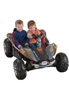 Toys Kids Bike Fisher-Price Power Wheels Dune Racer Lava Red & Black - Ride On Toys & Accessories Best Scooter For Kids, Kids Scooter, Kids Bike, Kids Atv, Kids Ride On Toys, Toys For Boys, Kids Toys, Power Wheel Cars, Power Wheels