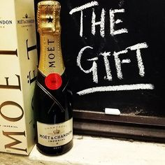 Our best selling #Champagne half bottle. Well, it's really a piccolo but it's just so perfect for a taste and ideal for gift hampers and parties.  That's if you can resist downing it yourself!