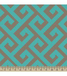 Anti-Pill Fleece Fabric Greek Key