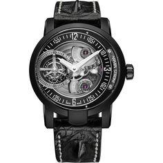 Armin Strom Armin Tourbillon Gravity Earth Black PVD Steel ST14-TE.M.90