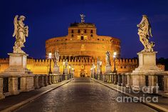 Castello Sant'Angelo, Rome, Italy