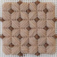 New to Needlepoint? Try These 54 Popular Needlepoint Stitches: Brighton Stitch