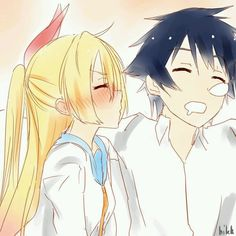 Find images and videos about anime, manga and nisekoi on We Heart It - the app to get lost in what you love. Nisekoi, I Love Anime, Anime Guys, Anime Girlfriend, Fanart, Manga Couple, Anime Ships, Anime Couples, Anime Characters