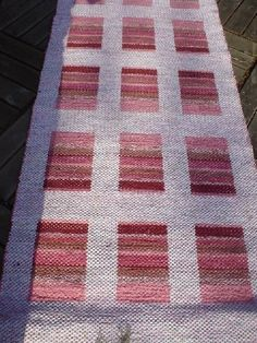 Tear, Recycled Fabric, Bath Rugs, Woven Rug, Hand Weaving, Carpet, Textiles, Quilts, Blanket