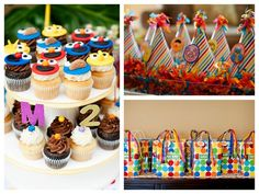 Sesame Street party: click through to Pizzazzerie to see list of unique party activities and menu!