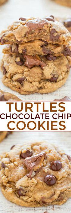 TURTLES CANDIES CHOCOLATE CHIP COOKIESReally nice recipes.  Mein Blog: Alles rund um Genuss & Geschmack  Kochen Backen Braten Vorspeisen Mains & Desserts!