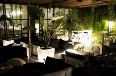 Y-POT LIGHT pots. #slide #plastic #furniture #garden #light