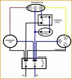 11 Best Century Condenser Fan Motor Wiring Diagram images in ... Ac Dual Capacitor Wiring Diagram on