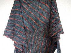 Danzig by Justyna Lorkowska, knitted by ikura | malabrigo Sock in Archangel and Persia