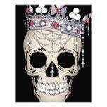 Skull Bone Frame Halloween Horror Crown Letterhead #halloween #happyhalloween #halloweenparty #halloweenmakeup #halloweencostume