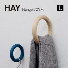 HAY(ヘイ) / GYM HOOK Mサイズ 壁 木製 フック ハンガー | CONNECT