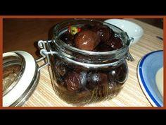 Olive nere sotto sale | Come far maturare le olive nere - Le Ricette di Zio Roberto - YouTube