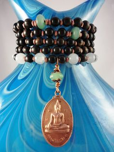 108 Prayer beads Necklace or bracelet Genuine by LifeForceEnergy, $36.00
