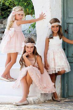 Tienda Moda Mascotas infantil y juvenil  #ceremonia #amaya #nuevacolección #ceremonia2017 Baby Girl Dress Patterns, Baby Dress, Pink Dress, Cute Girl Dresses, Little Girl Dresses, Flower Girl Dresses, Baby Girl Fashion, Kids Fashion, Teenager Outfits