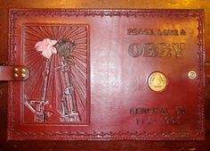 Alcoholics Anonymous Leather Big Book Cover by BomberoLeatherworks,