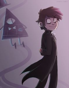 Bill Cipher possessing Dipper Pines has been my favorite part of Season Two thus far