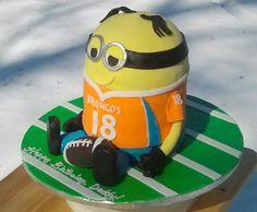 #Broncos cake #super bowl cake #minion cake #birthday cake