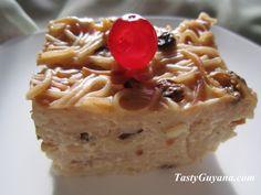 Vermicelli Cake - Guyanese food