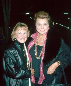 Two great ladies who gave me much enjoyment at the Saturday afternoon matinees  June Allyson is on the left. She died in 2006 at the age of 88. Esther Williams is on the right side. She died in June of 2013 at the age of 91.