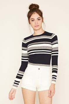 Colorblock Sweater Top | Forever 21 - 2000221685