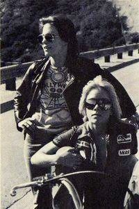 Joan Jett and Cherie Currie