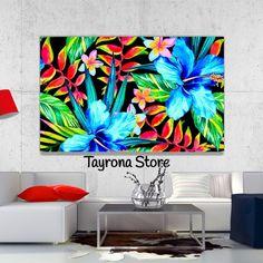 Cuadro Decorativo Tayrona Store Para Sala o Alcoba Pinturas Flores Vintage 21