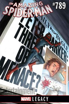 AMAZING SPIDER-MAN #789 Brings PETER PARKER Back to the DAILY BUGLE in MARVEL LEGACY