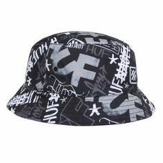The new Huf Haze Bucket Hat is a versatile way to up your style. Kai, Best Streetwear Brands, Skateboard Fashion, Black Bucket, Diamond Supply, Lifestyle Clothing, Thrasher, Caps Hats, Men's Hats