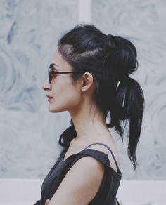 Now this is an updo.