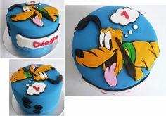 Pluto cake! Omg I'd love a disney cake!!