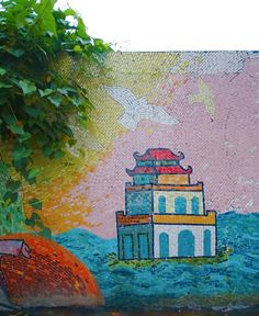 9 hidden gems in Hanoi including lesser known neighbourhoods, bars and attractions. These less touristy places in Hanoi are worth a visit! Location Pin, Gem Hunt, Vietnam Travel Guide, Hanoi Vietnam, Mosaic Wall, Public Art, Stuff To Do, Art Projects, Gems