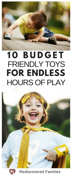 10 of the best open-ended toys for kids. Toys like these encourage hours of fun and imaginative play activities and don't cost the earth. Are you shopping on a budget and looking for products that will not be gathering dust by the end of January? Check out this list.