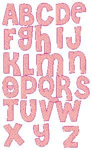 Embroidery | Free Machine Embroidery Designs | Bunnycup Embroidery | Cheri Alphabet