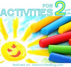 Two year olds love to be busy, so keep them entertained with these activities.