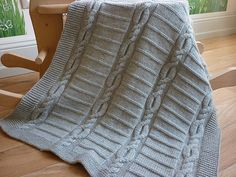 Ravelry: Baby blanket Lucas pattern by Le Petit Mouton