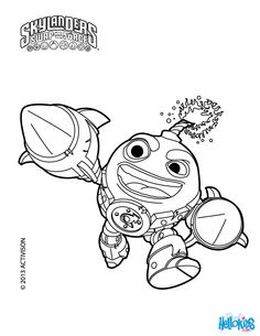skylanders colouring pages google search - Skylander Coloring Pages Print