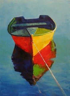"""MIRROR POND"" - Original Fine Art for Sale - © Brian Cameron"