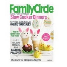 Free Subscription to Family Circle Magazine.  #freebies #free #samples http://www.ericsfreesite.com/archives/26356