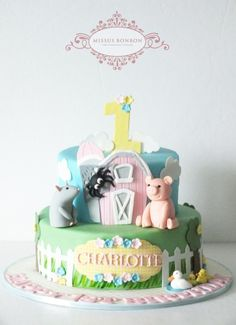 Charlotte's Web Cake - Cake by Missus Bonbon - Joan Chien