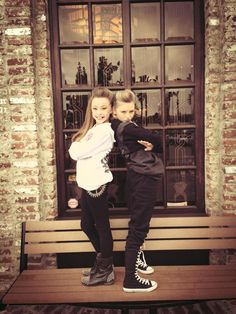 Sophia Lucia and Autumn Miller... 2 of my favorite dancers Anon from Pinterest  These r really good dancers