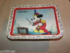 I totally had this tray!!! Loved it. Ate while watching Dukes of Hazard :) Vintage 1980 Walt Disney Mickey Mouse Metal TV Serving Tray | eBay