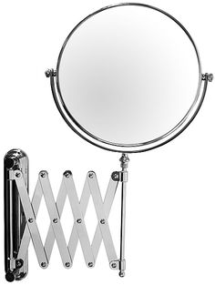 Danielle Creations 6x Extension Makeup Mirrors In Chrome D3755 Or Gold D3756