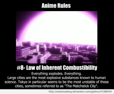 Anime Rule #8 by ArkaMustang on DeviantArt