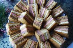 Honey Layered Cream Cake/Prajitura Mozaic cu foi de miere