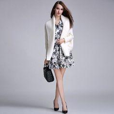 Oversized Batwing Sleeve Knitted Cardigan Sweater Women Fashion Shrug Sweaters Autumn Winter Warm Long Cardigans