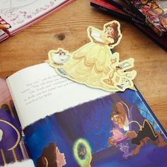 Your little reader will love to customise their favourite books with a Belle Corner Bookmark. They're easy to make and fun to decorate with some of your favourite characters from Beauty and the Beast.