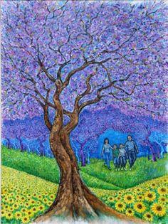 tree of life with frames | Loren Hodes - The Tree of Life - Tree Beauty