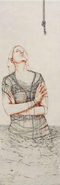 andrea benson Dance Project, Textile Art, Embroidery Stitches, Fiber Art, Illustrators, Abstract Art, My Arts, Collage, Sketches