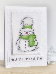 Penny Black Christmas Cards with Snowman Homemade Christmas Cards, Christmas Cards To Make, Handmade Christmas, Chrismas Cards, Xmas Cards, Holiday Cards, Penny Black Karten, Penny Black Cards, Winter Karten